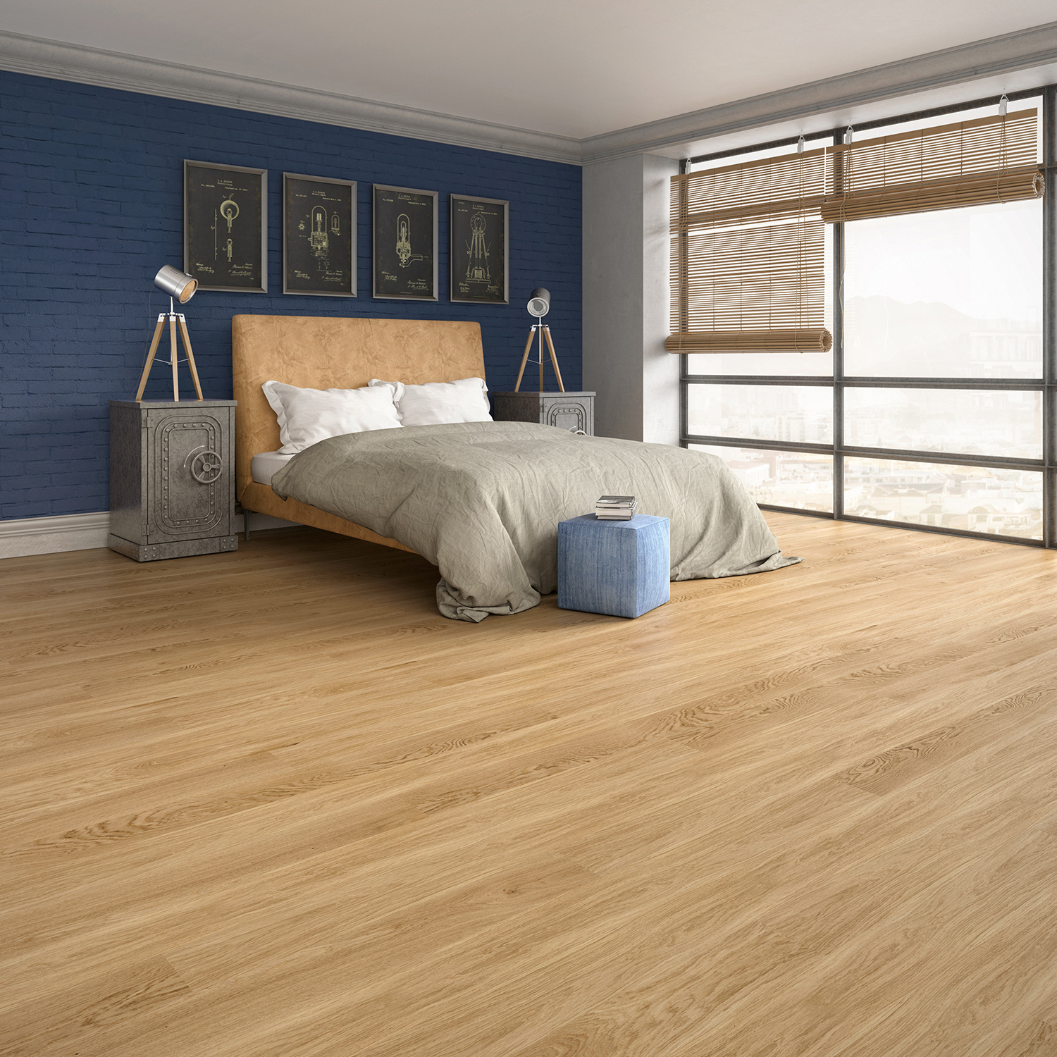 A New Size Of Flooring In The Jeans